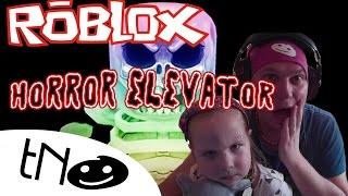 Hrozně se bojíme ve výtahu  - The Horror Elevator | Roblox | Tatínek a Barunka CZ/SK