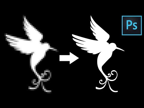 photoshop-tutorial-|-how-to-convert-raster-image-to-vector-image-in-photoshop