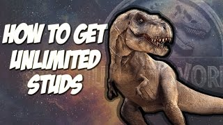 HOW TO GET UNLIMITED STUDS IN LEGO JURASSIC WORLD