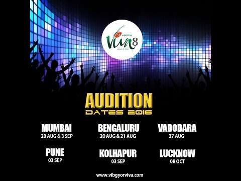 Viva 8 - Auditions in 6 cities