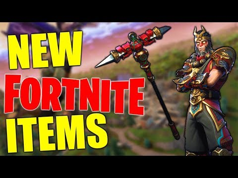 Wukong Outfit - Dragon Axe - Fortnite