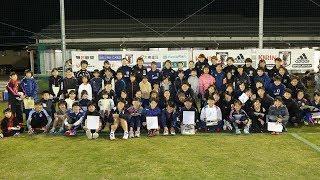なでしこジャパンは、11月6日、鳥取県に到着。夕方からのトレーニング前...