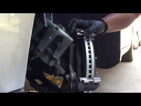 2015 Ford Taurus Front Brake Pads And Rotor Change