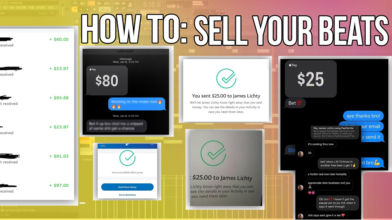 How To Sell Your Beats Tutorial (Live Sale) | FL Studio