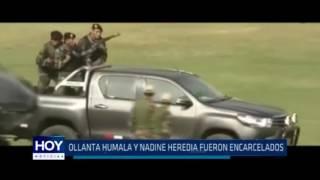 Ollanta Humala y Nadine Heredia fueron encarcelados