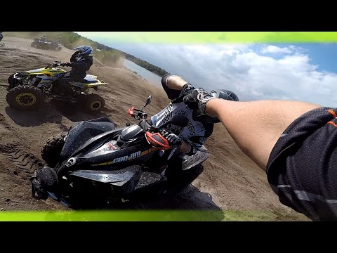 Can am Renegade 1000  | First Offroad Experience  Part 1/2 Quad and ATV