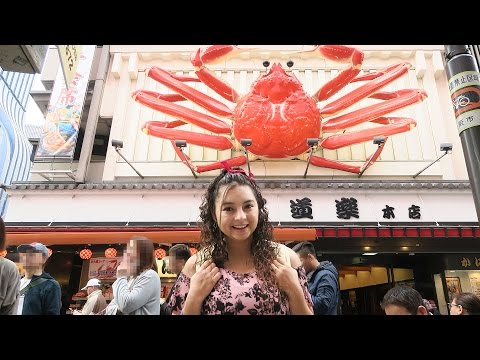 Crabby experience and the World's Best Cheesecake in Osaka, Japan!
