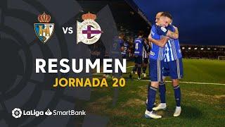 Resumen de SD Ponferradina vs RC Deportivo (2-0)
