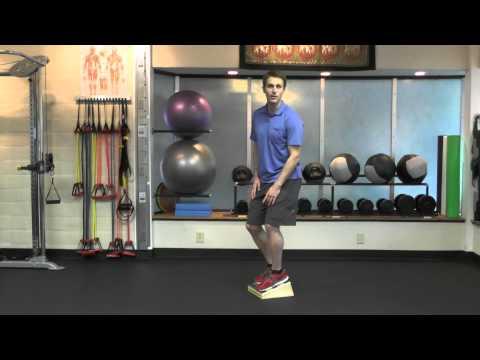 Eccentric squat for patellar tendinosis / tendinitis