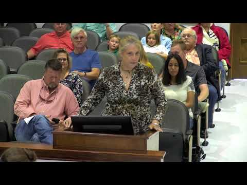 Victoria, Texas City Council Meeting of August 21, 2018