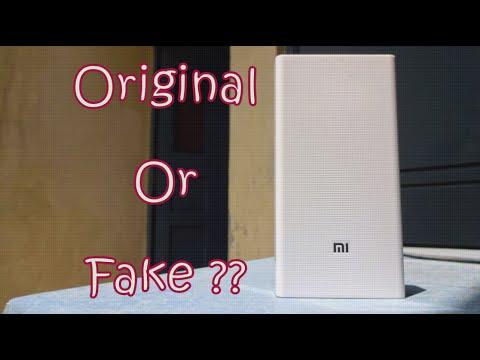 How To Check/Identify Fake Xiaomi/Mi Power Bank [2016]