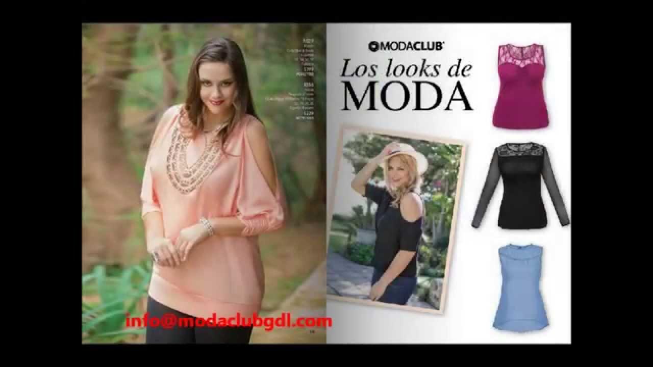 0976dab3f1d Catalogo Moda Club Primavera Verano 2014, Tallas Especiales - YouTube