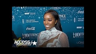 'How To Get Away With Murder': Aja Naomi King Reacts To Wes' Death | Access Hollywood
