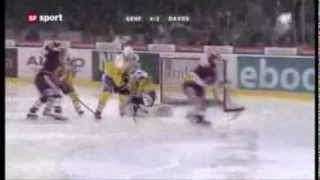 Gambar cover Logan Couture awesome between-the-legs goal in Swiss League