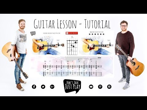 LOST FREQUENCIES & ZONDERLING - CRAZY- How to play on Guitar-Tutorial - Lesson -UNPLUGGED COVER