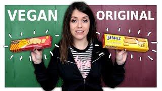 Ich teste Vegane Süßigkeiten Vs. Original!
