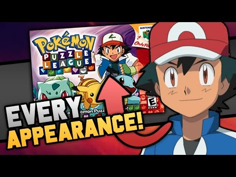 EVERY Ash Ketchum Appearance In The Pokemon Games!