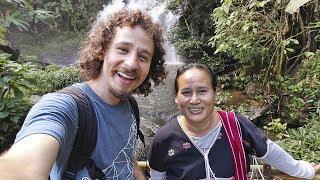 Pasé un día con una MUJER INDÍGENA en Tailandia 🇹🇭🇲🇲