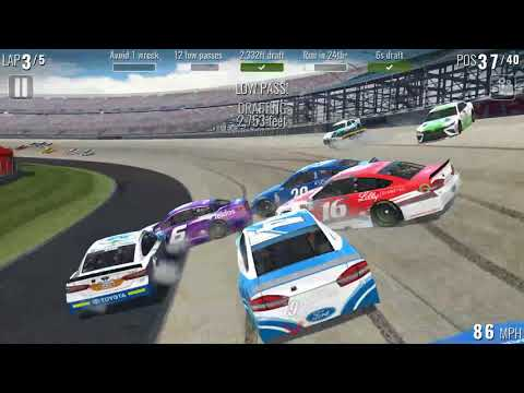 NASCAR Heat Mobile • Yellow Flag/Crash Compilation #1