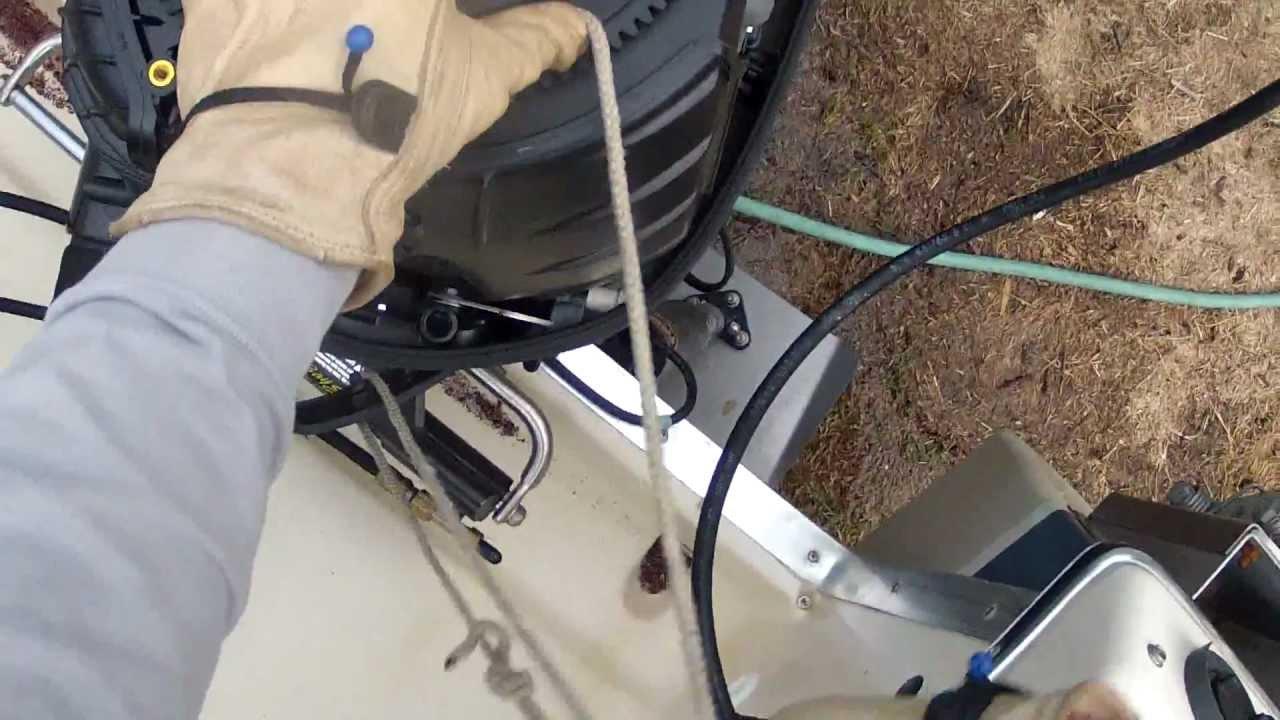 Pull Starting Suzuki Df90a Youtube Yamaha Dt 175 Wiring Harness
