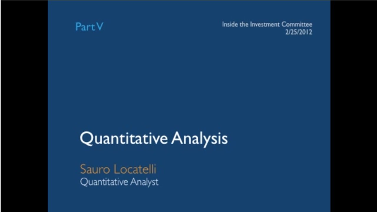 intro to quantitative analysis You will find that introduction to quantitative pcr provides clear steps for learning the details of qpcr methods, how to use these methods effectively, and the most appropriate analysis techniques.