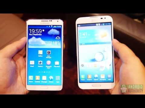 Samsung Galaxy Note 3 vs LG Optimus G Pro: Quick Look!
