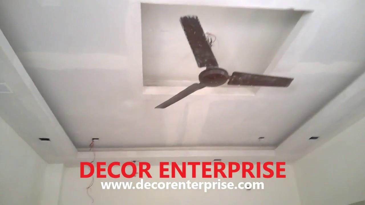 Mr Jahar Chakraborty House Final Update Gypsum Ceiling Designing