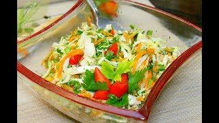 Рыбный салат с пекинской капустой. #салат #рыбныйсалат # пекинскаякапуста Домашний ресторан®