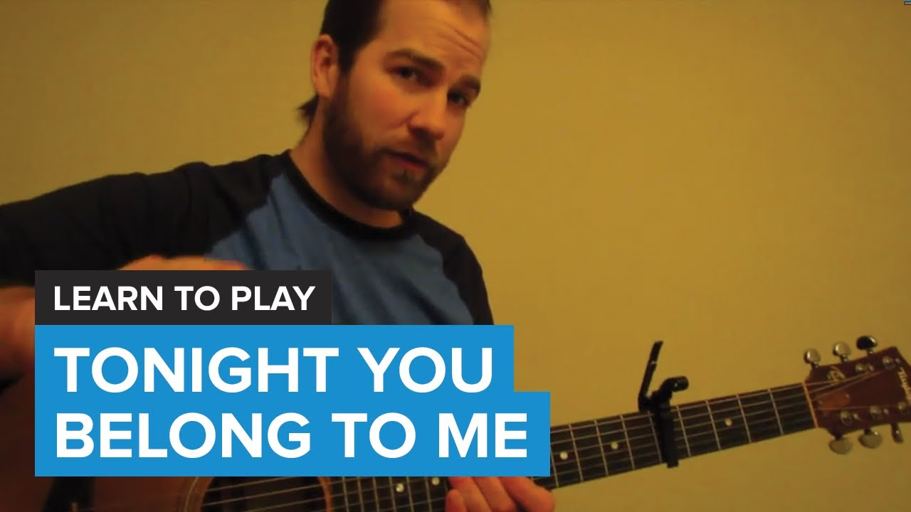 How to play tonight you belong to me by eddie vedder guitar how to play tonight you belong to me by eddie vedder guitar chords lesson hexwebz Choice Image