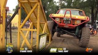Tuff Truck Challenge 2016 - STRANGE ROVER on Travel Ramp