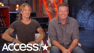 'The Voice': Blake Shelton Calls Advisor Keith Urban His 'Thunder Down Under' | Access