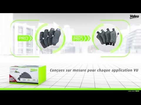 Valeo Service présente sa gamme de plaquettes de frein pour véhicules utilitaires