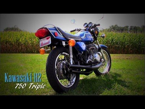 1972 Kawasaki H2 Mach IV Two-stroke Triple