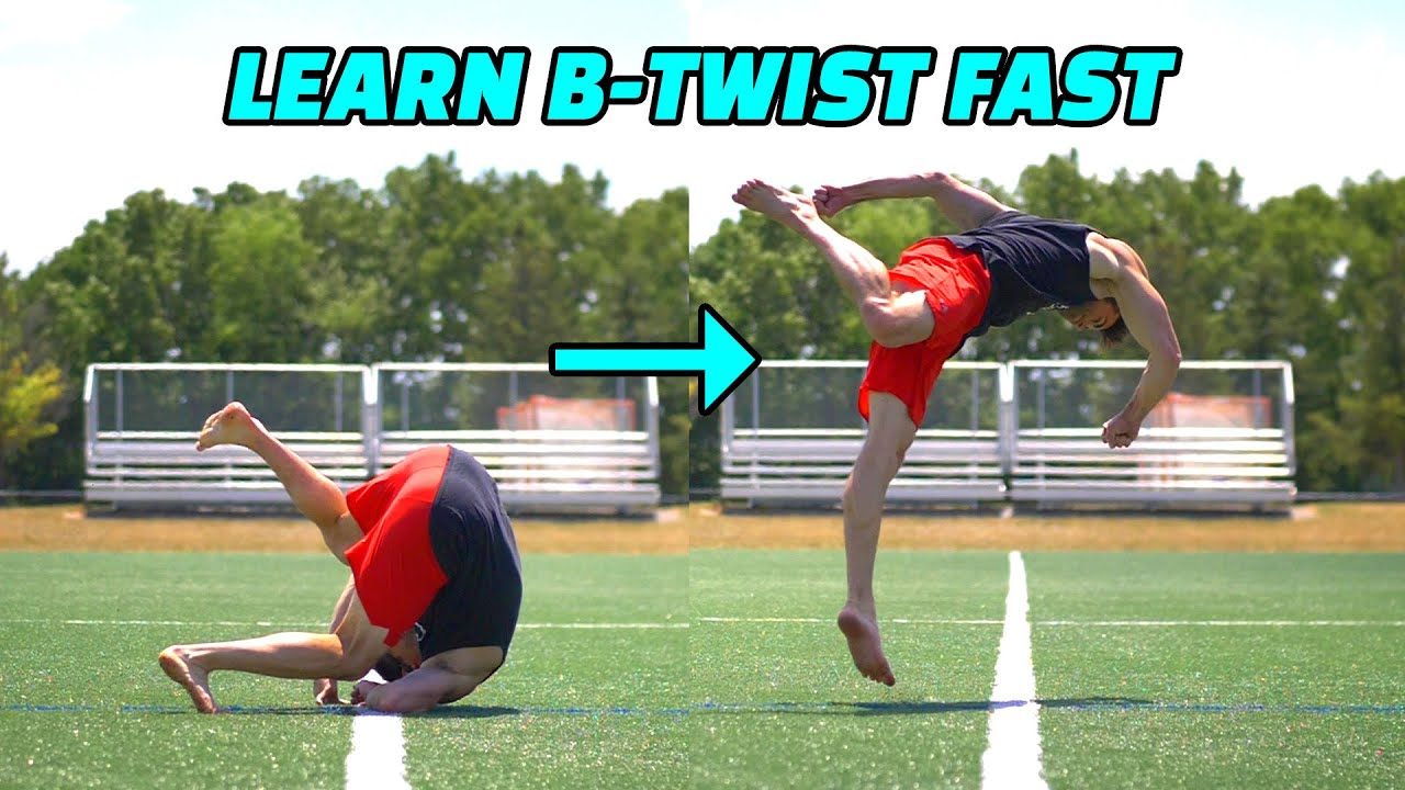 Learn How to B-Twist This Summer! – Morph an Easy Front Roll into a Twist in the Air