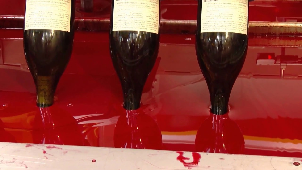Automatic Bottle Waxing Line From Emmeti For Wine Beer