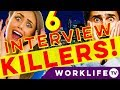 What NOT to do in an Interview - 6 FUNNY MYTHS! (Tips & Advice)