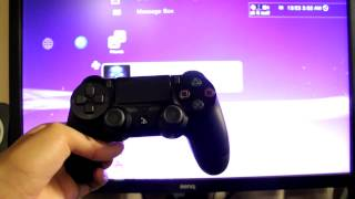How to Use PS4 Controller on PS3! *EASY METHOD* (WIRED AND WIRELESS)