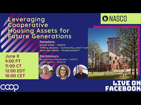 Leveraging Cooperative Housing Assets for Future Generations Webinar