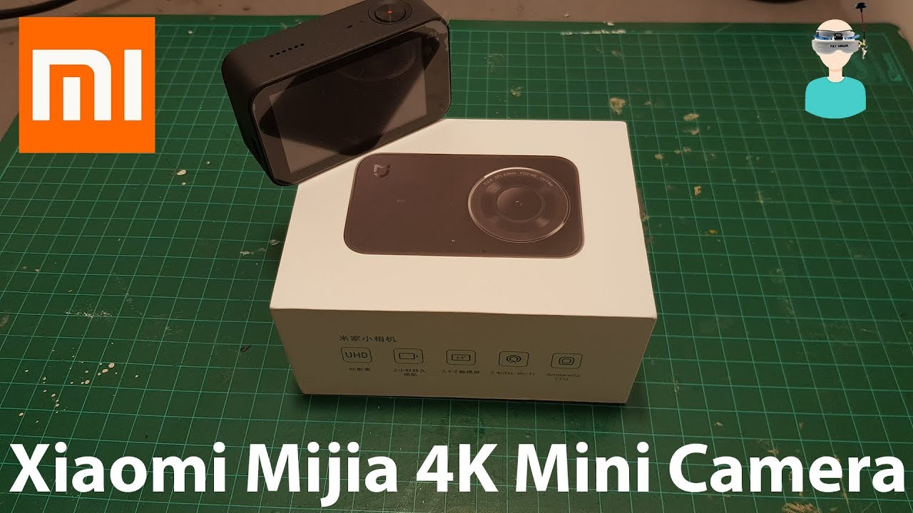 Xiaomi Mijia 4K Mini Camera - Unboxing And Review - YouTube