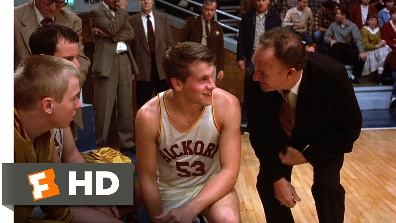 Hoosiers (8/12) Movie CLIP - God Wants You on the Floor (1986) HD