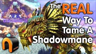 ARK Genesis 2 H๐w To Tame A Shadowmane! #ARK