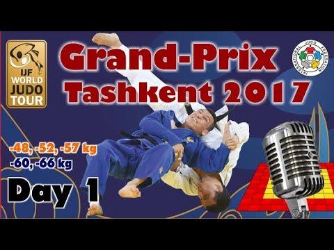 Judo Grand-Prix Tashkent 2017: Day 1