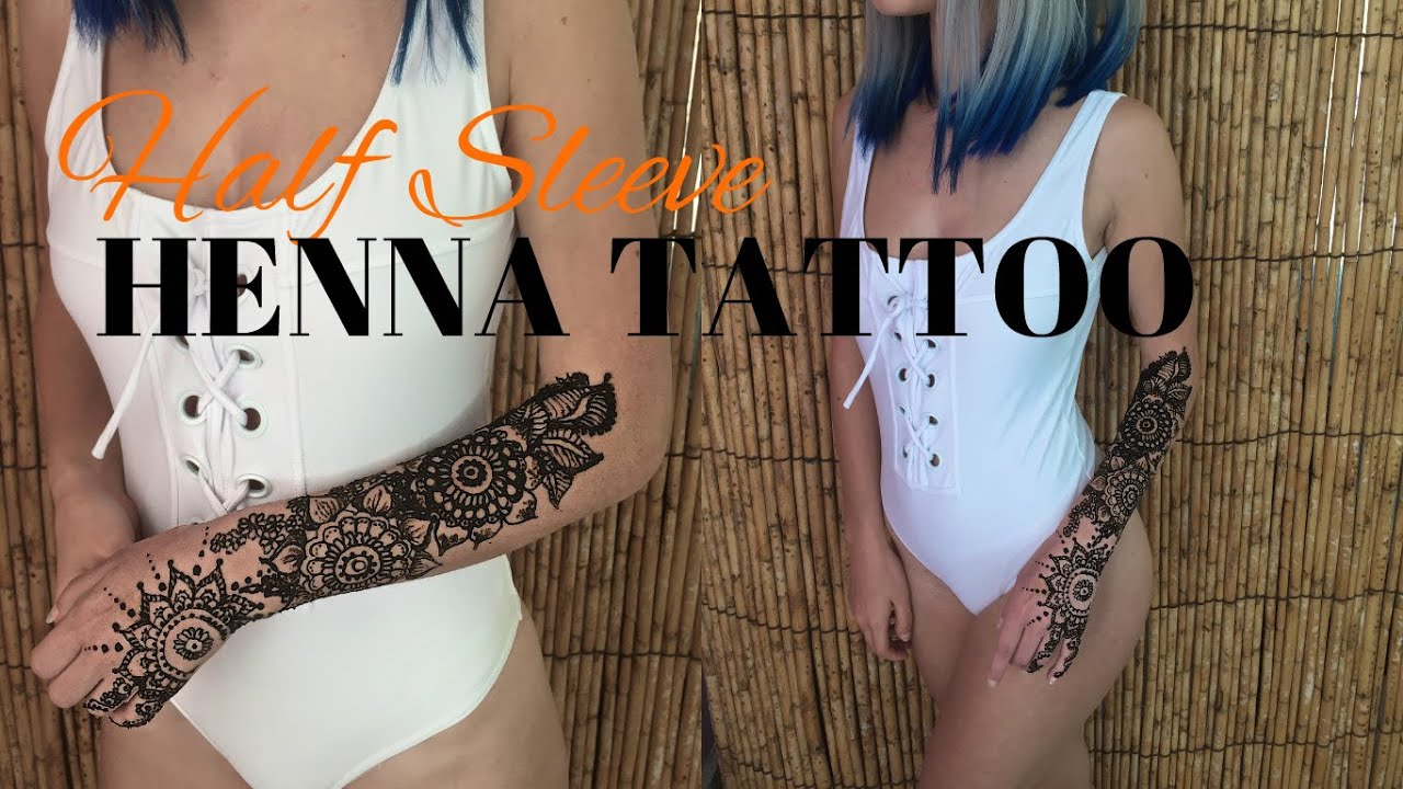 Why Does My Henna Tattoo Look Black: How To DIY Temporary Tattoo