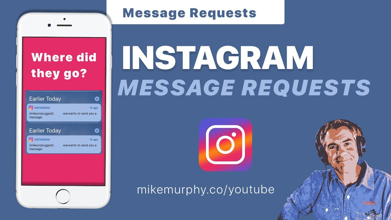 Instagram: How to find Direct Message Requests