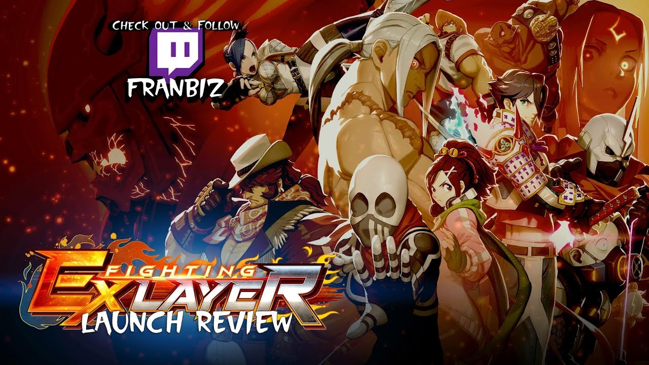 Fighting EX Layer Launch Review - YouTube