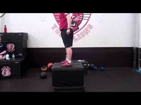 Counter Movement Box Jump
