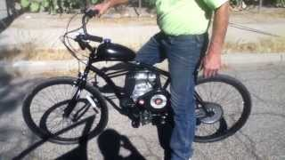 2ND GENERATION 4-STROKE MOTORIZED BICYCLE from UMOTOBIKES.COM