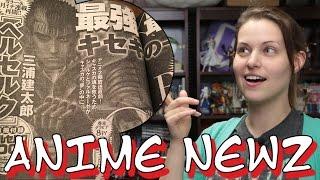 Berserk Manga returns!!  | ANIME NEWZ