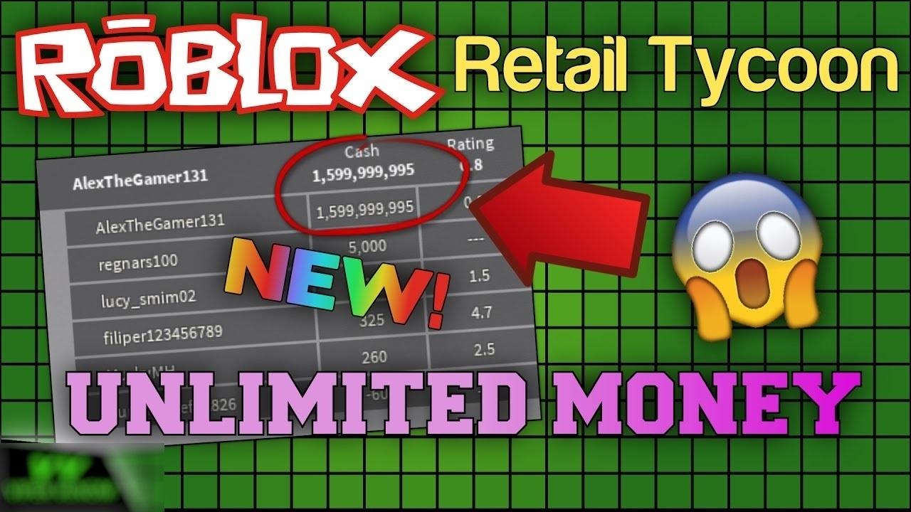 unlimited money glitch working  roblox retail