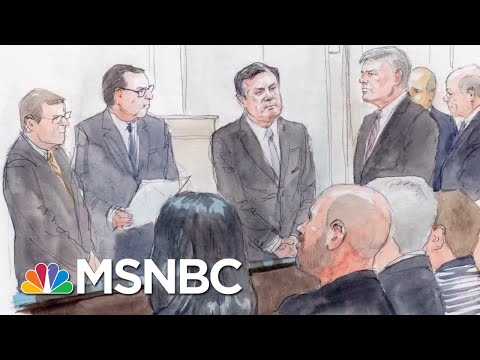 Paul Manafort Trial, Day 1: Opening Arguments... And An Ostrich Jacket | The 11th Hour | MSNBC